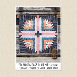 Polar Compass Quilt Kit