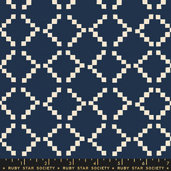 Tile in Navy