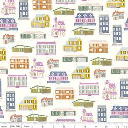 Houses in Cream