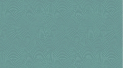 Scallop Dot in Teal