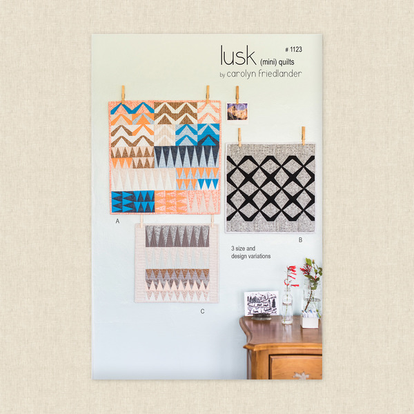 Lusk Mini Quilts Sewing Pattern