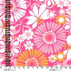 Ruth Ann Double Border in Pink