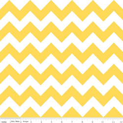 Medium Chevron in Yellow
