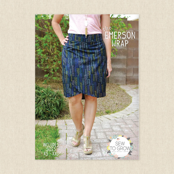 Emerson Wrap Sewing Pattern By Sew To Grow At Hawthorne Supply Co