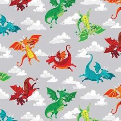 Dragons in Grey
