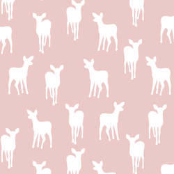 Fawn Silhouette in Blush