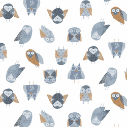 Owls in White