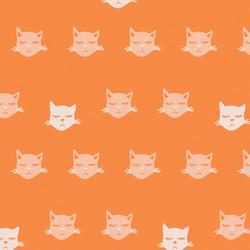 Cat Nap in Orange