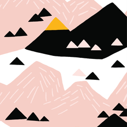 Pink Mountain in Multi