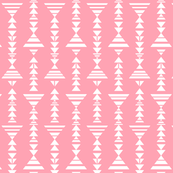 Little Tribal Stripe in Rose Pink