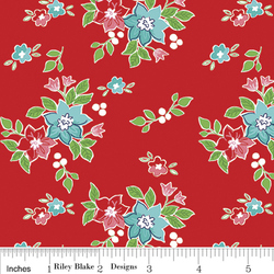 Seaside Floral in Red