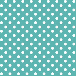 Candy Dot in Seafoam