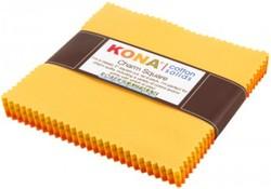 "Kona Solid 5"" Square Pack in Citrus Burst"