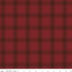 Plaid in Red