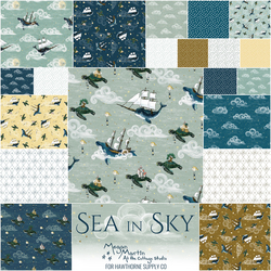 Sea in Sky Fat Quarter Bundle