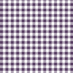 Small Buffalo Plaid in Aubergine