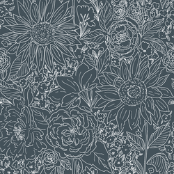 Paperie in Sunflower Navy