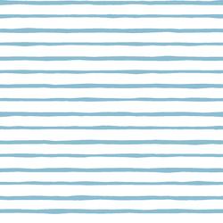 Artisan Stripe in Breeze on White