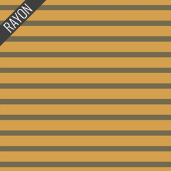 Rayon Stripes in Soleil