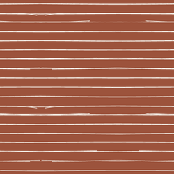 Lines in Rust Red