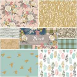 Harvest Fat Quarter Bundle in Autumn Fawn
