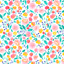 Jane Floral in Bright