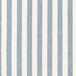 Stripe Yarn Dyed Woven in Chambray
