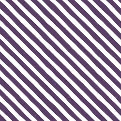 Rogue Stripe in Aubergine