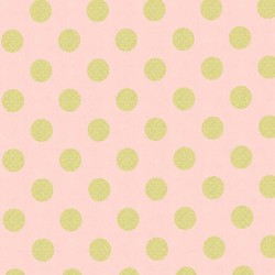 Quarter Dot Pearlized in Blush