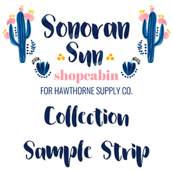 Sonoran Sun Sample Strip