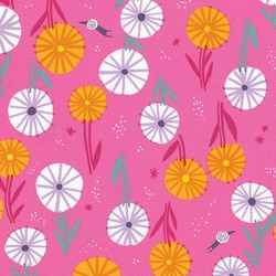 Go For It Floral in Candy Pink