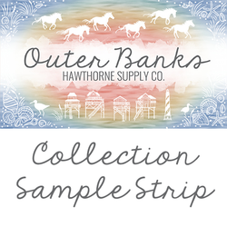 Outer Banks Sample Strip