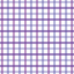 Spring Plaid in Lilac
