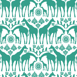 Giraffe Tribe in Jade