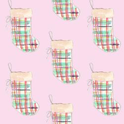 Stockings in Sugar Pink