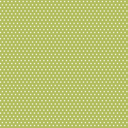 Polka Dots in Lime Green