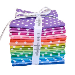 Dumb Dot Fat Quarter Bundle in Rainbow