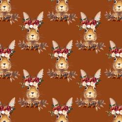 Little Autumn Hare in Cinnamon