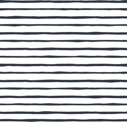 Artisan Stripe in Eclipse on White