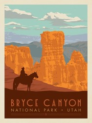 Poster Panel in Bryce Canyon