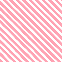 Rogue Stripe in Rose Pink