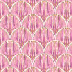 Courbe Ikat in Rose