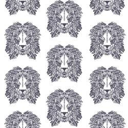 Lions Head in Ink