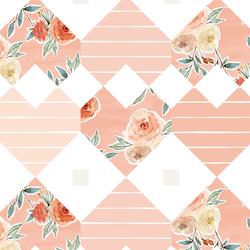 Patchwork in Vintage Rose