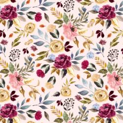 Rose Garden in Soft Blush