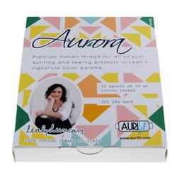 Aurifil Kit in Aurora Small Spools by Leah Duncan