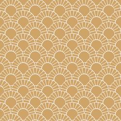 Mosaic Sun Tile in Golden Sunshine