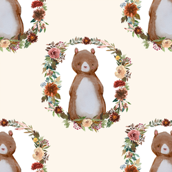 Woodland Bear in Soft Ivory