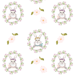Bunnies in White