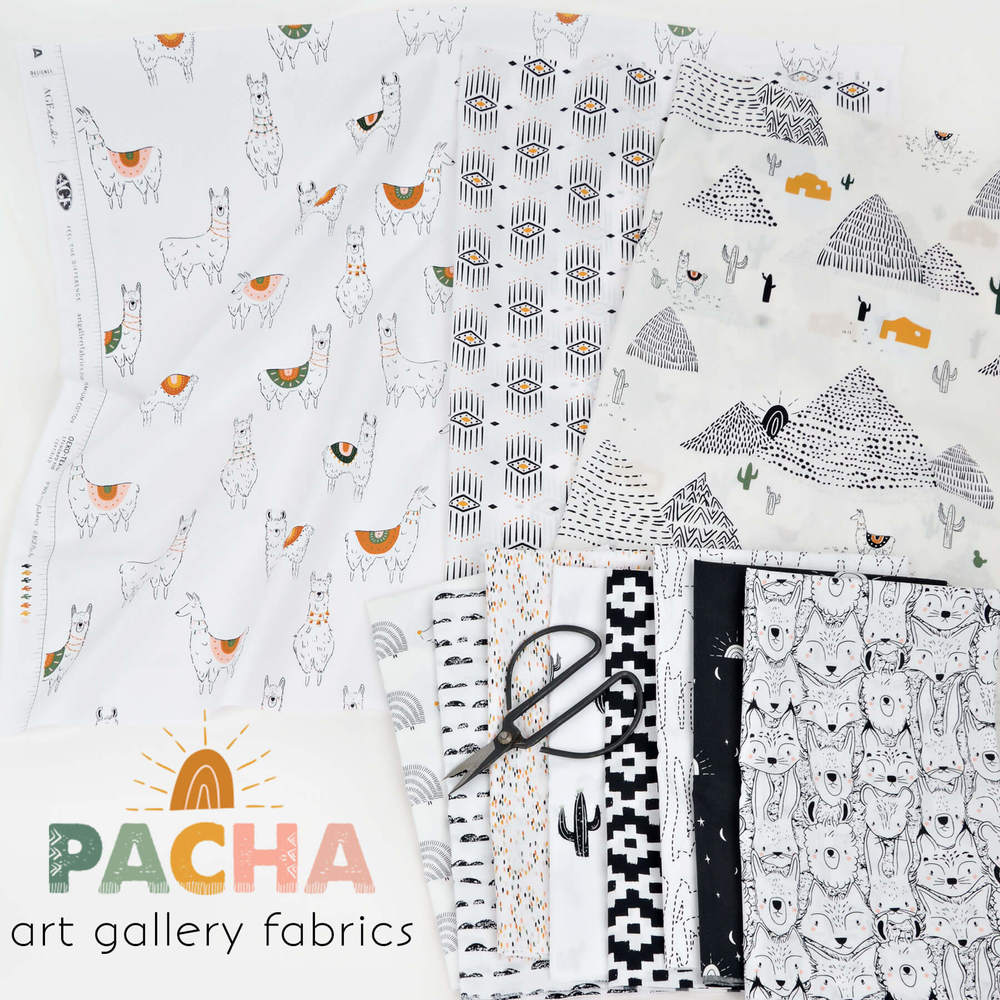 Sold by the Yard and Cut Continuous Ships Today Pacha Inca Trails by Art Gallery Fabrics
